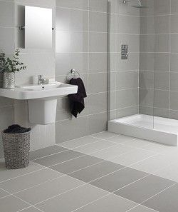 Beau White Tile Bathrooms