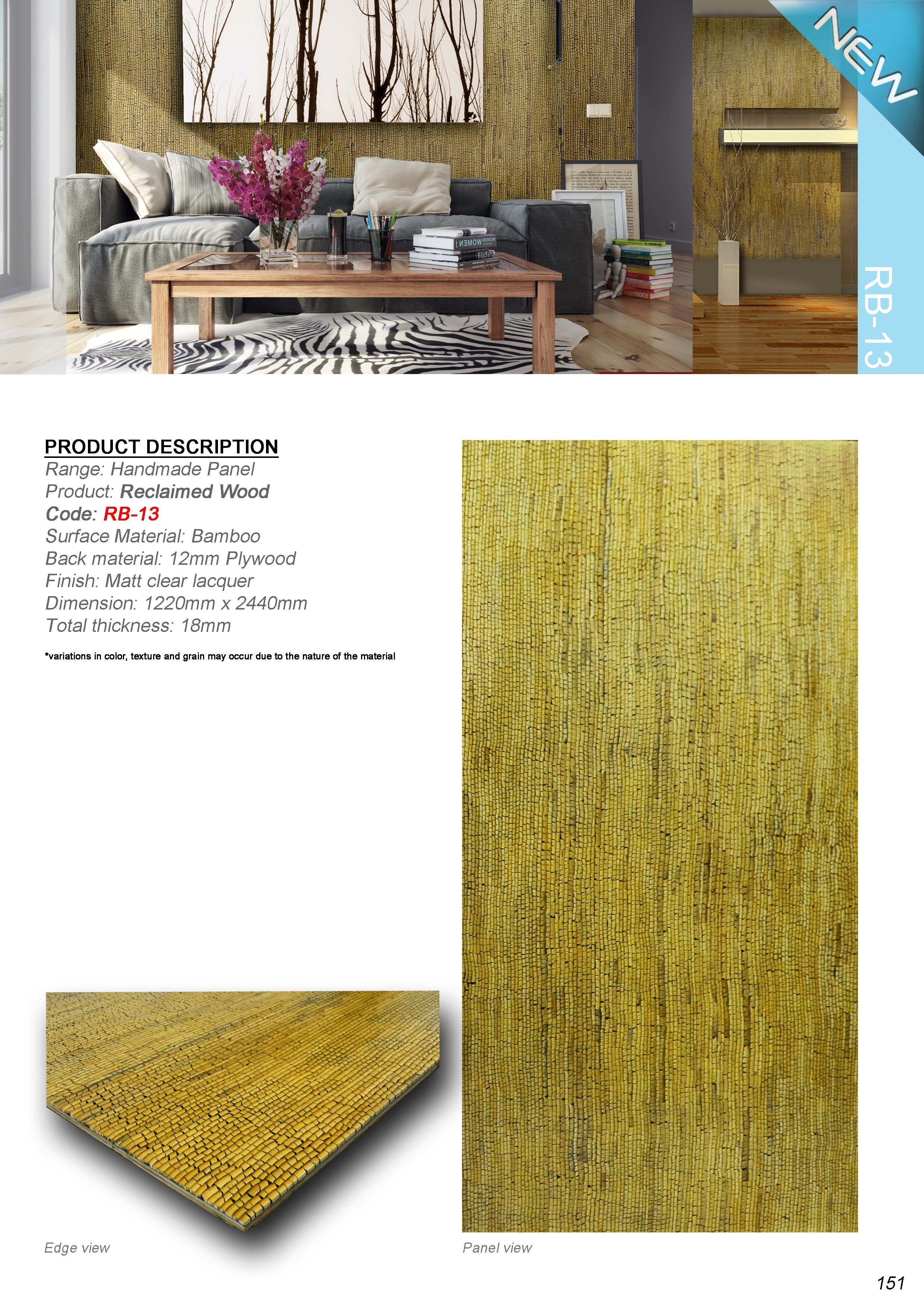 Bamboo Reclaimed Wood Bamboo And Many Forms Of Wood Are Natural