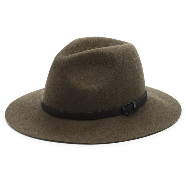 Sole Society Wool Panama Hat (665 ZAR) ❤ liked on Polyvore featuring  accessories f9744219a6d0