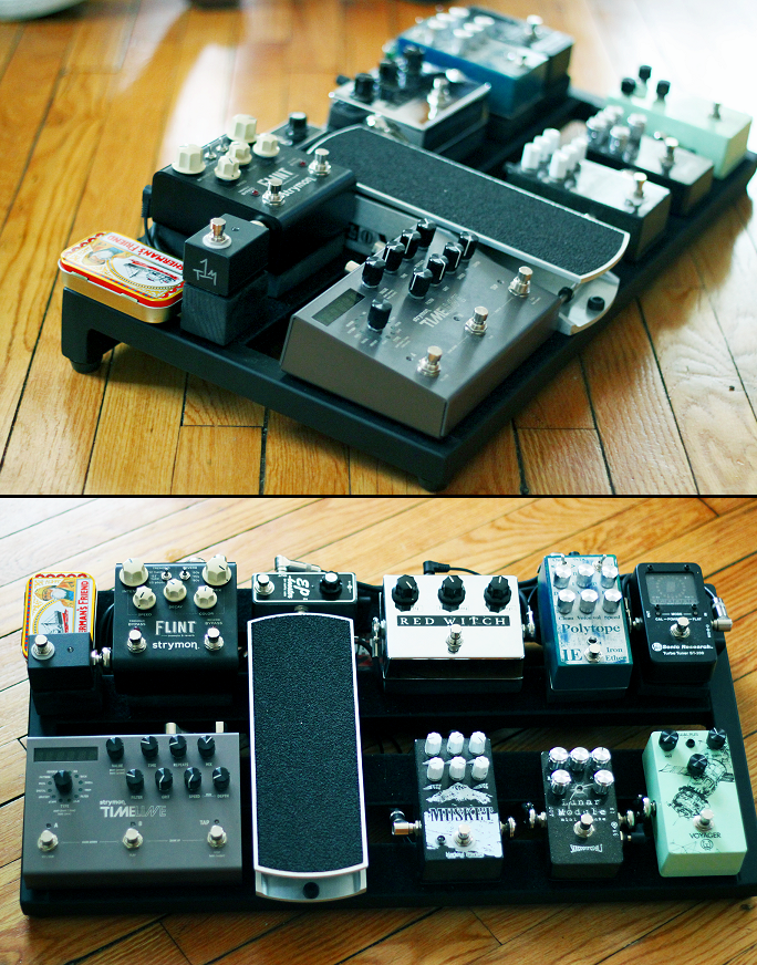 Another Impressively Clean Board Guitar Pedals Pedalboard Guitar Gear