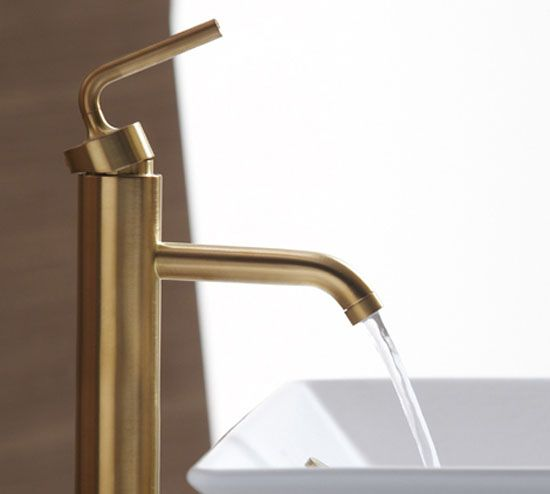 Kohler Purist Brushed Gold Faucet