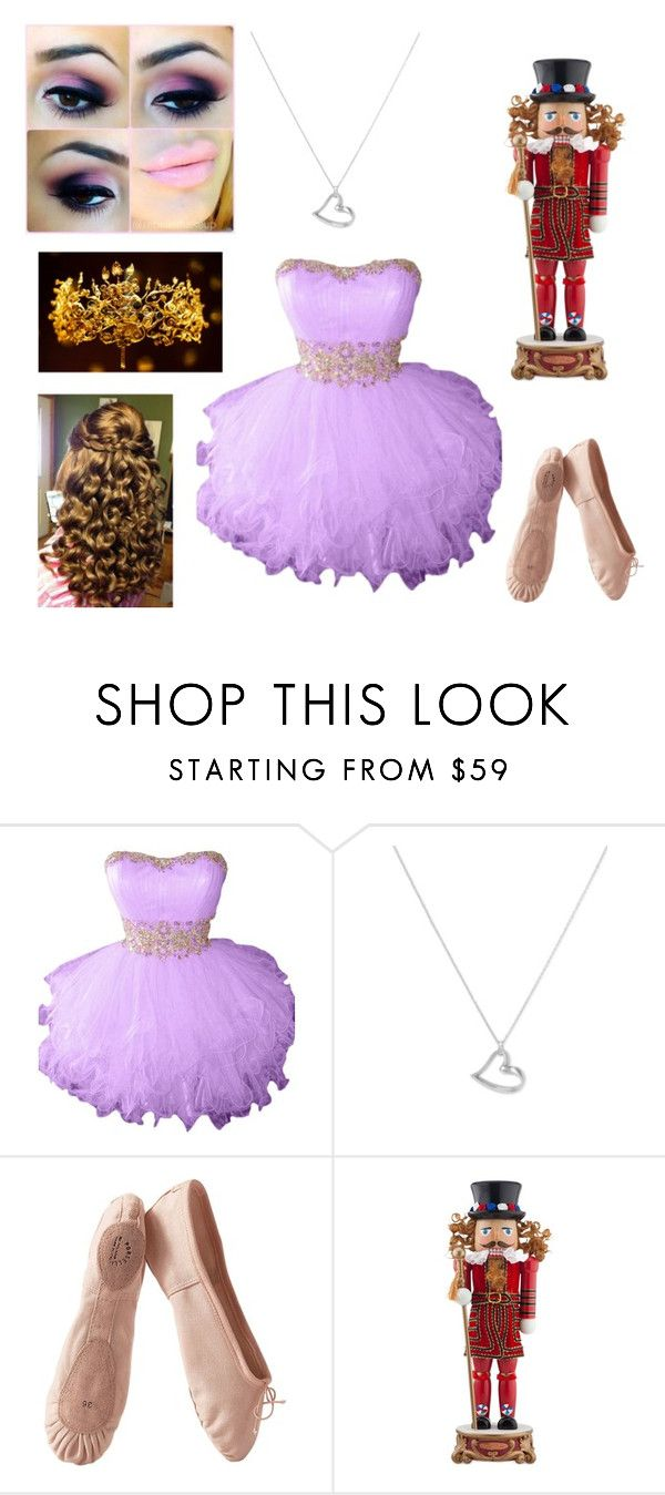 """""""The Nutcracker Dance Recital"""" by france-perry ❤ liked on Polyvore featuring Argento Vivo, Cotton Candy, Porselli and Christopher Radko"""