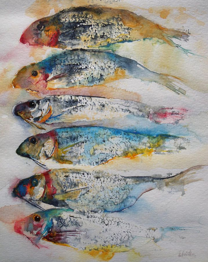 Atelier De La Petite Mer Watercolor Fish Art Fish Art
