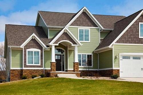 luxury house vinyl home siding exterior design some ideas and suggestions to install vinyl. Black Bedroom Furniture Sets. Home Design Ideas