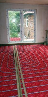 How To Install Radiant Floor Heat Pinterest Radiant Floor - How to install heated floors on concrete