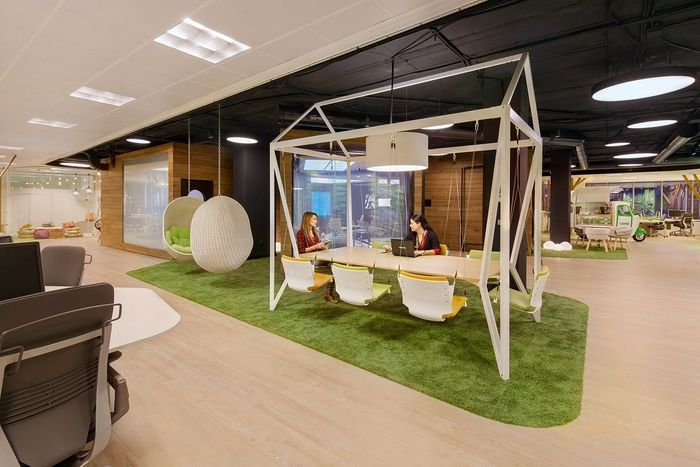 Office Tour Cbre Offices Madrid Corporate Office Design Architecture Office Architecture