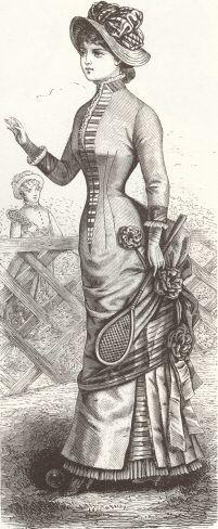 1880s In Western Fashion Wikipedia The Free Encyclopedia Victorian Era Fashion Victorian Fashion Vintage Sportswear