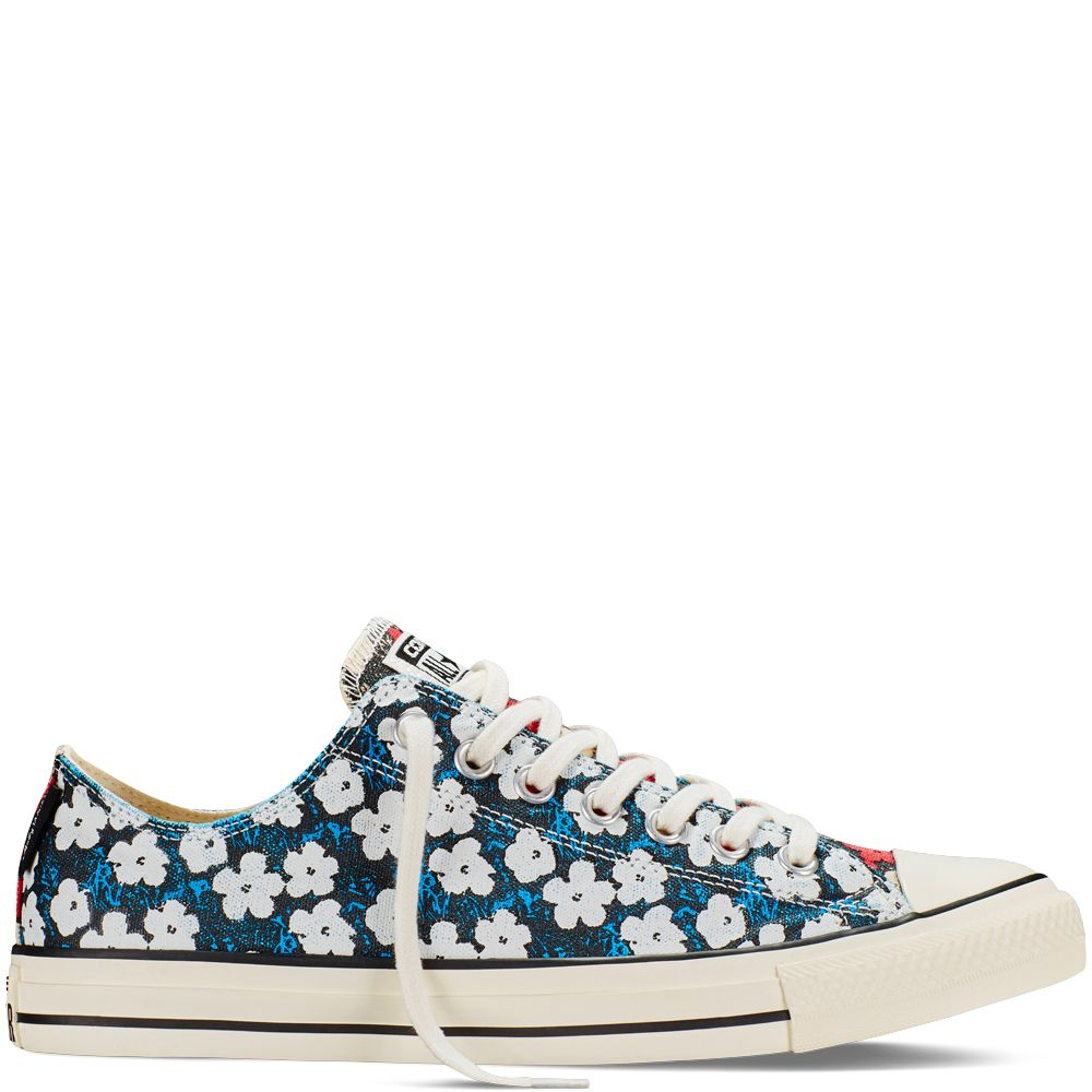 753f818b9a12 Chuck Taylor All Star Andy Warhol Floral  65.00 Spray Paint Blue (151035C)  Converse is proud to continue their collaboration with The Andy Warhol  Foundation ...