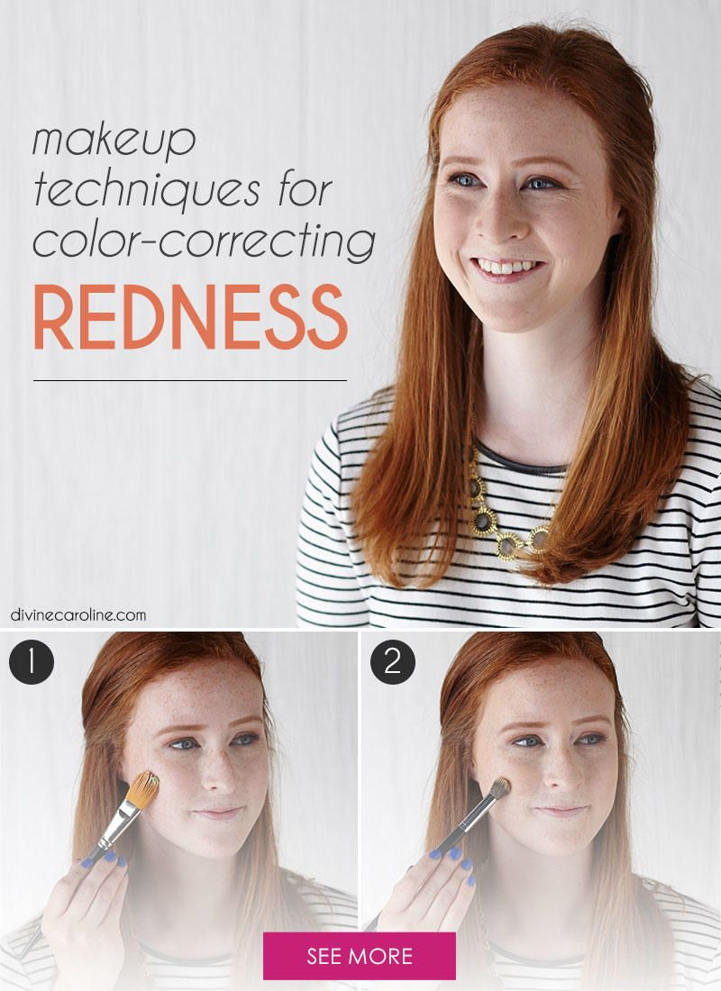 Canceling Out Redness Is A Cinch With Color Correcting Makeup Follow This Tutorial And You Can Color Correction Makeup Best Makeup For Rosacea Rosacea Makeup