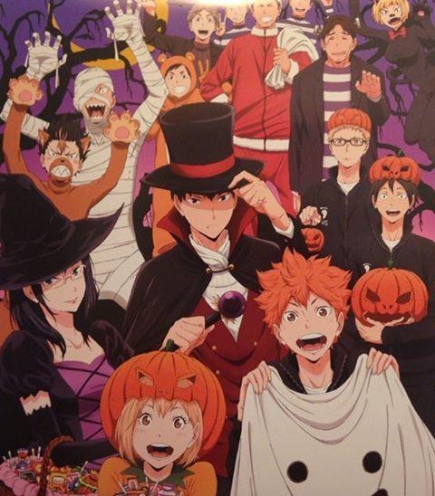 haikyuu karasuno halloween | Haikyuu anime, Anime ...