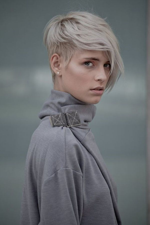 Kurzhaarfrisuren Undercut Frauen Frisuren Trendfrisuren Undercut