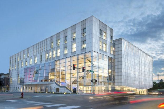 University Of Iowa Voxman Music Building Located In Iowa City Unitedstates Is By Lmn Architects Education Award 2017 Building Iowa The University Of Iowa