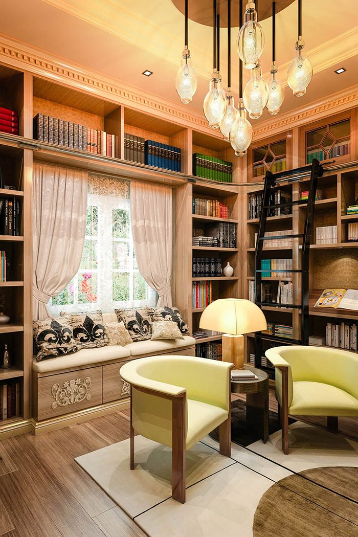 Classic Home Library Design: The Home Library Of Your Dreams