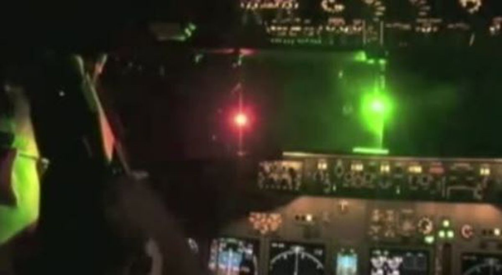 Reported laser by pilot points to safety concerns in the