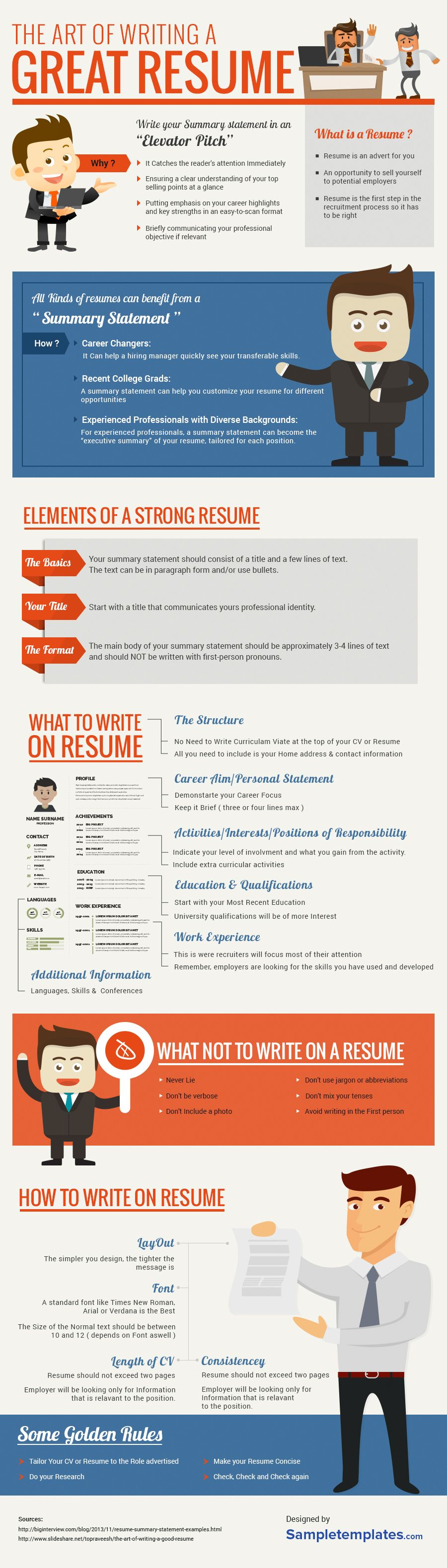 Resume Tips Profile Statement Objective how to