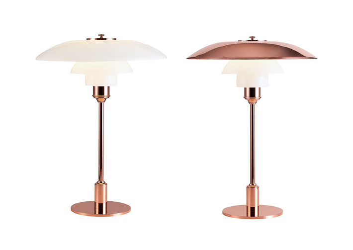 Ph 3 2 Copper Table Lamp Limited Edition By Louis Poulsen Http Www Skandium Com What S New Ph 3 2 Copper Table Lamp L Copper Table Lamp Table Lamp Lamp