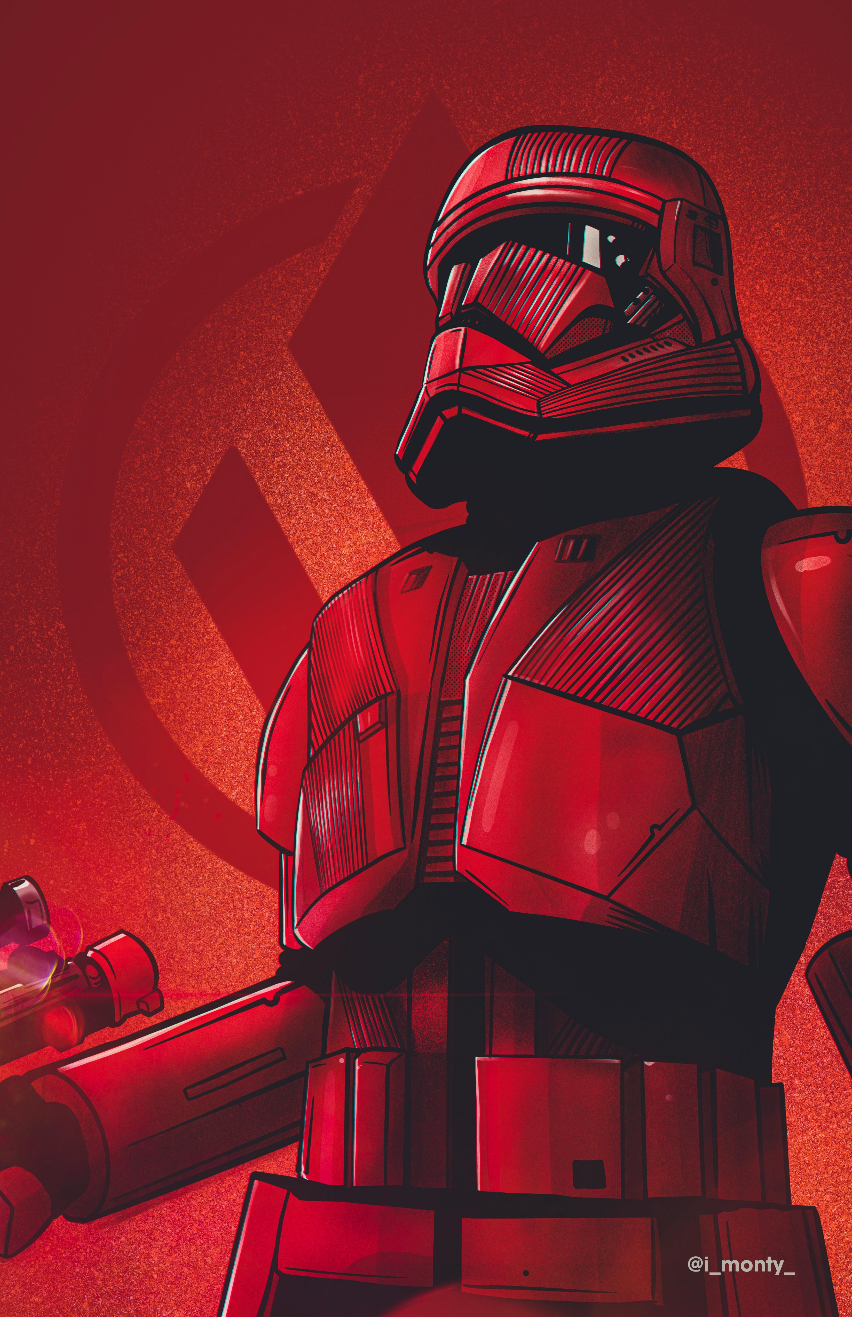 Here S My Sith Trooper Illustration Hope You Enjoy Https Ift Tt 3ab40qj In 2020 Star Wars Wallpaper Star Wars Characters Pictures Star Wars Images