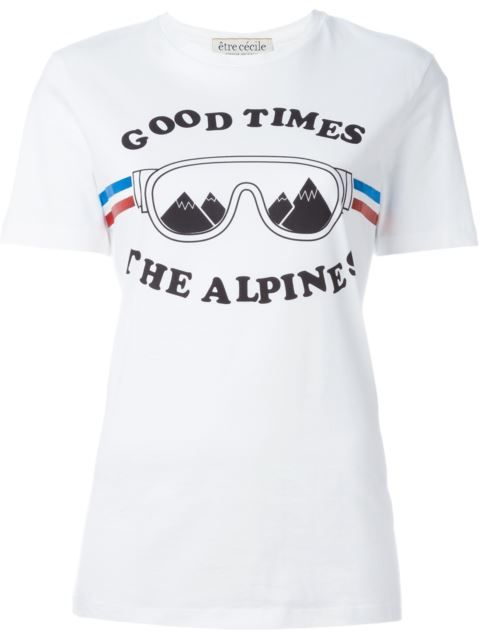 Shop Être Cécile 'Alpin' T-shirt in Smets from the world's best independent boutiques at farfetch.com. Shop 400 boutiques at one address.