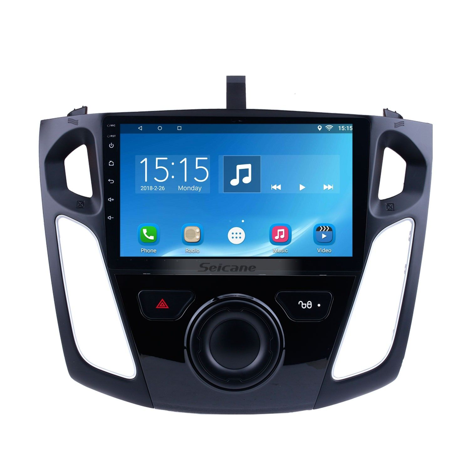 9 Inch Android 10 0 Gps Navigation Hd 1024 600 Touchscreen Radio For 2011 2012 2015 Ford Focus With Bluetooth Wifi 1080p Usb Mirror Link Obd2 Dvr Steering Wheel Gps Navigation Gps Ford Focus