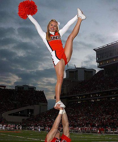 College female cheerleaders legs #12