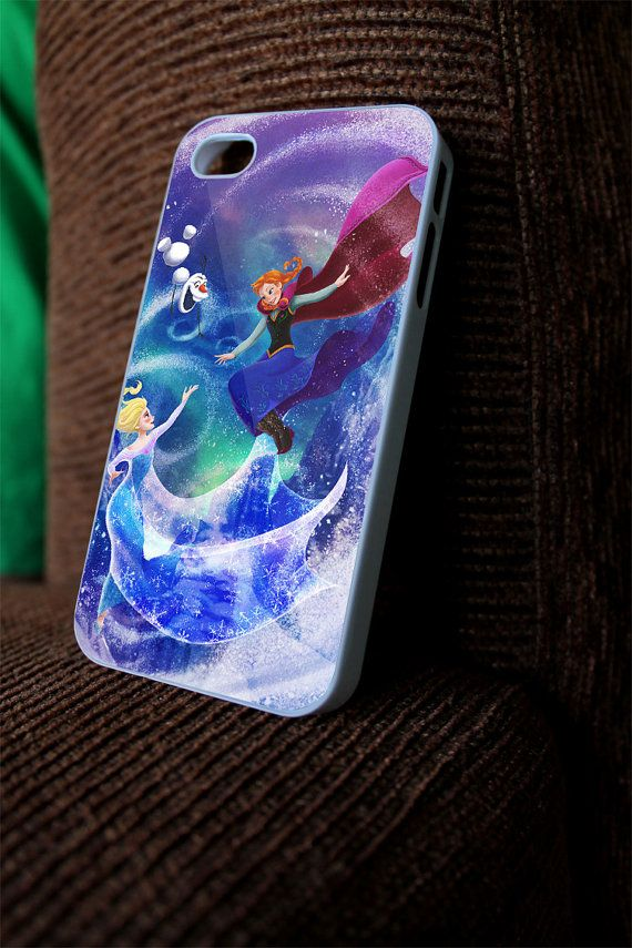 Frozen Princess Anna and Elsa  for iphone, samsung galaxy and ipod on Etsy, $14.99
