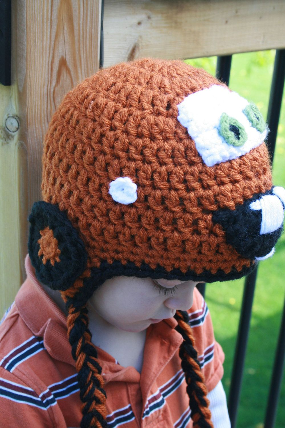 Luv Boopa: Tow-Mater Crochet Hat