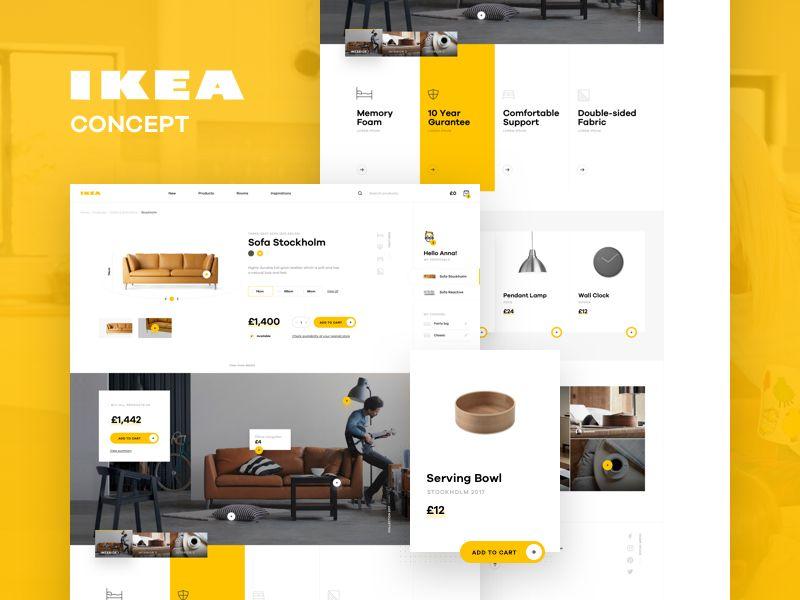 Check Out Our Redesign Concept Of Ikea S Online Experience Team Luke Pachytel Toto Castiglione Pawel Kontek Anna Klawikowska Jarosław Ceborski