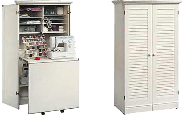 12++ Sauder craft and sewing armoire info