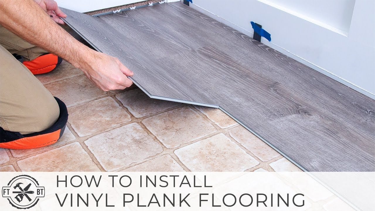 Installing vinyl plank flooring is an easy home renovation ...