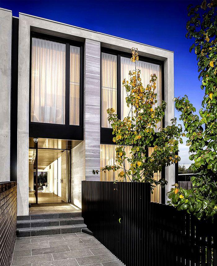 Architecton entwarf Wohnsitze mit hoch entwickeltem Baustil in ...