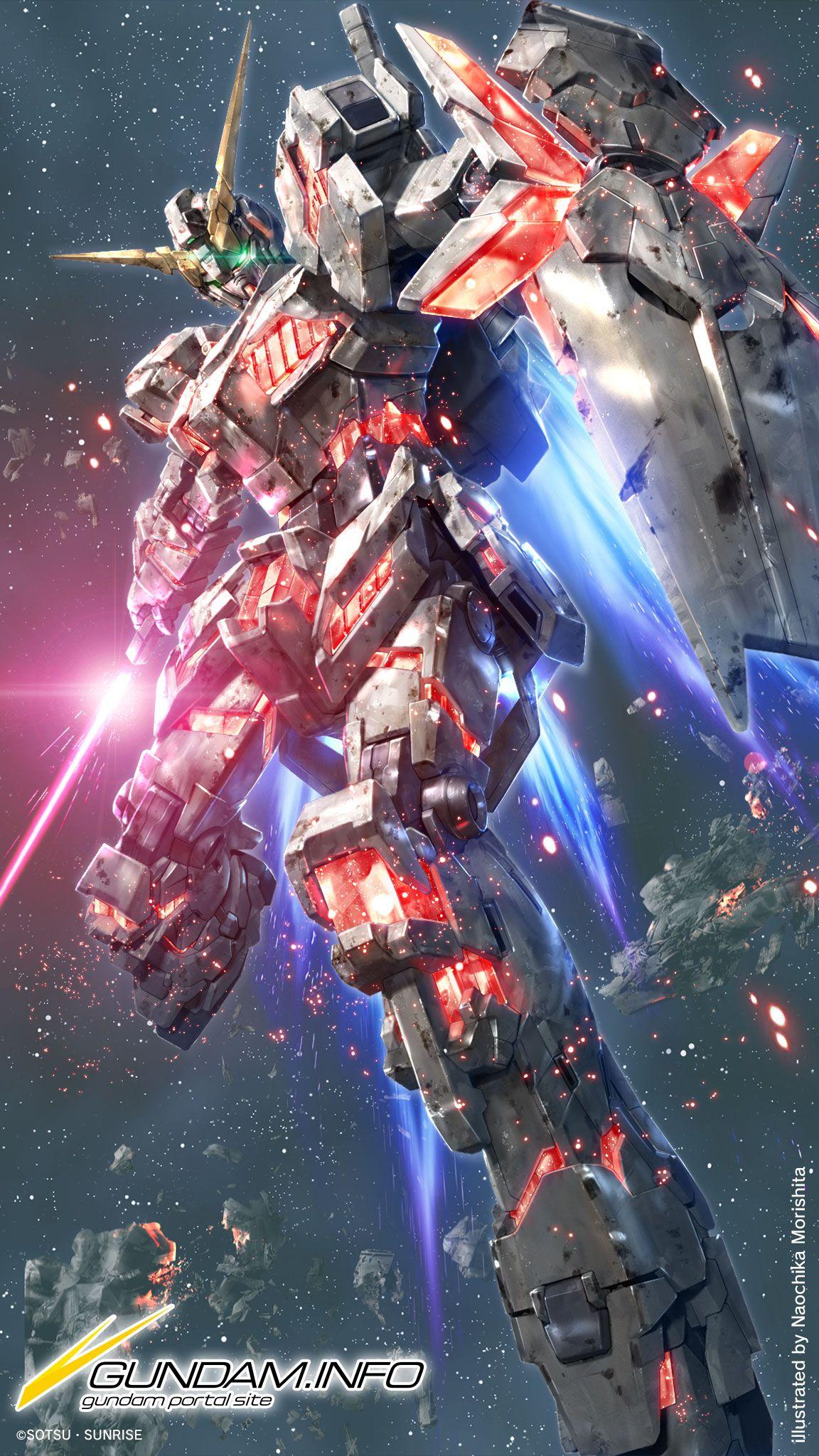 Gundam Uc Art Google Search Gundam Wallpapers Gundam Unicorn Wallpaper