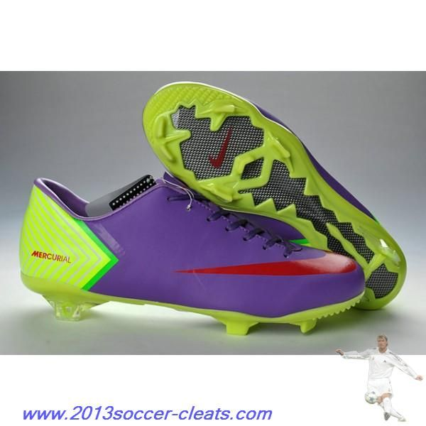 094f7a821 ... italy cheap nike mercurials nike mercurial vapor x fg in purple green  red football boots 1aba2