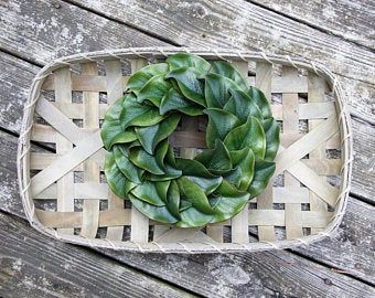 Photo of Farmhouse wreath, Gallery Wall Decor, Rustic Decor, Wreath in frame, Cottage wreath, Eucalyptus Wreath, Cotton Wreath