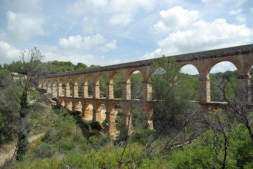 nice Aqüeducte romà de les Ferreres, Tarragona (restaurat)