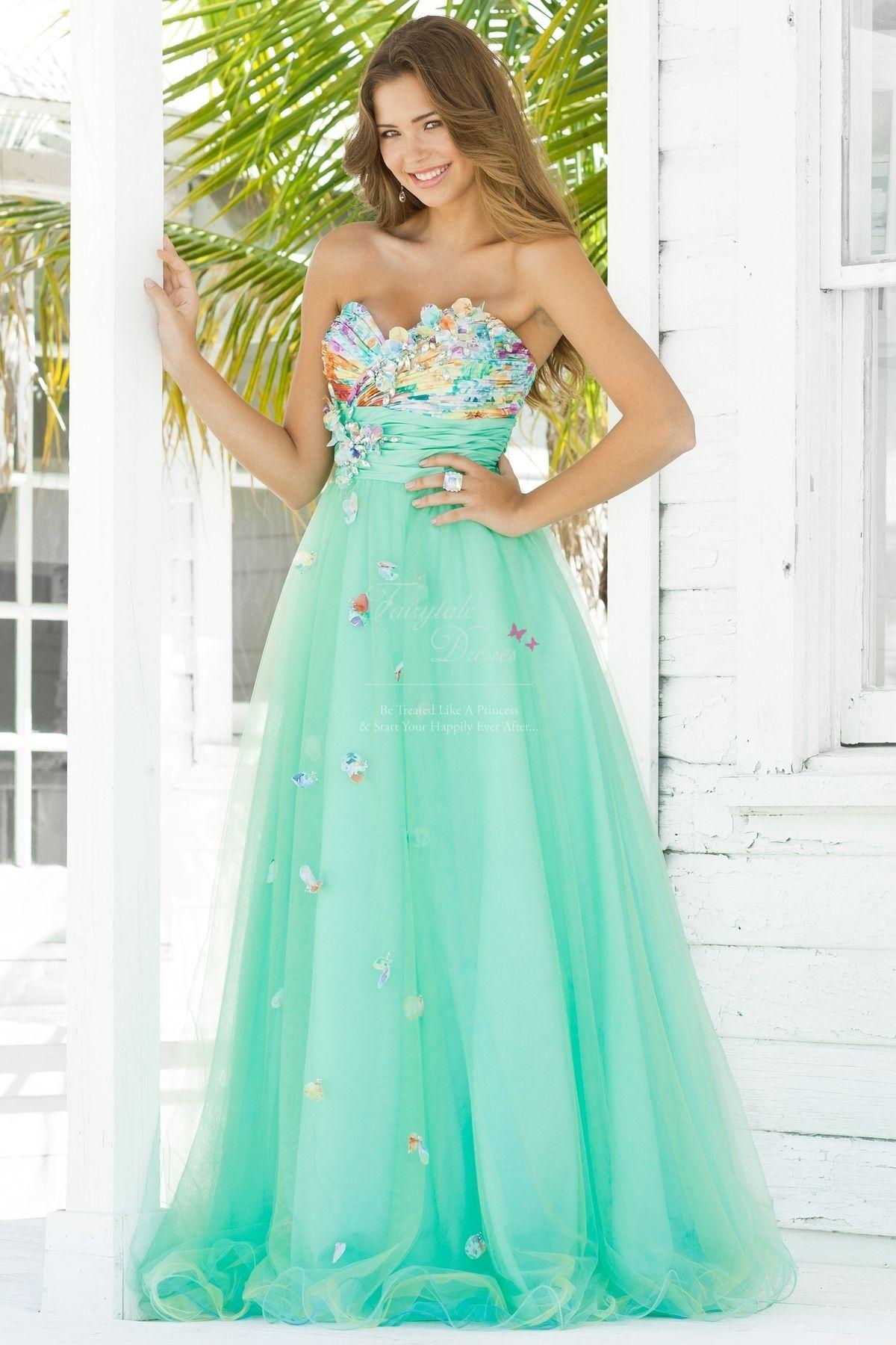 Blush 5135 Mint | UK - Fairytale Dresses | Prom dresses ...