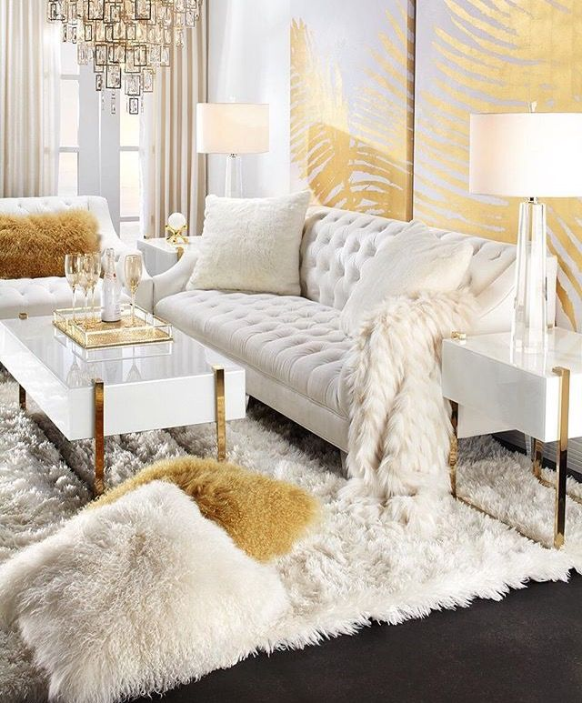 25 Swoon Worthy Glam Living Room Decor Ideas: Pin By Kami On House & Home In 2019