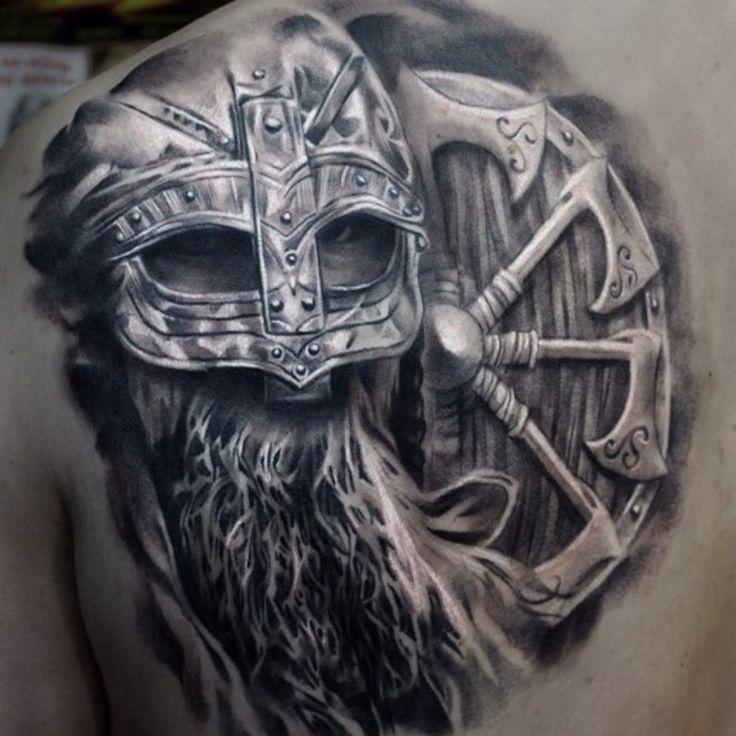 Krieger Tattoo für Tattoo-Kunst,  #für #inspirationaltattoossymbols #Krieger #Tattoo #TattooKunst