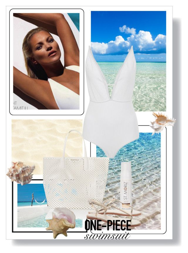 """""""Get the Look: Swimsuit Edition"""" by dezaval ❤ liked on Polyvore featuring Zimmermann, Seafolly, New Look, GetTheLook and Swimsuits"""