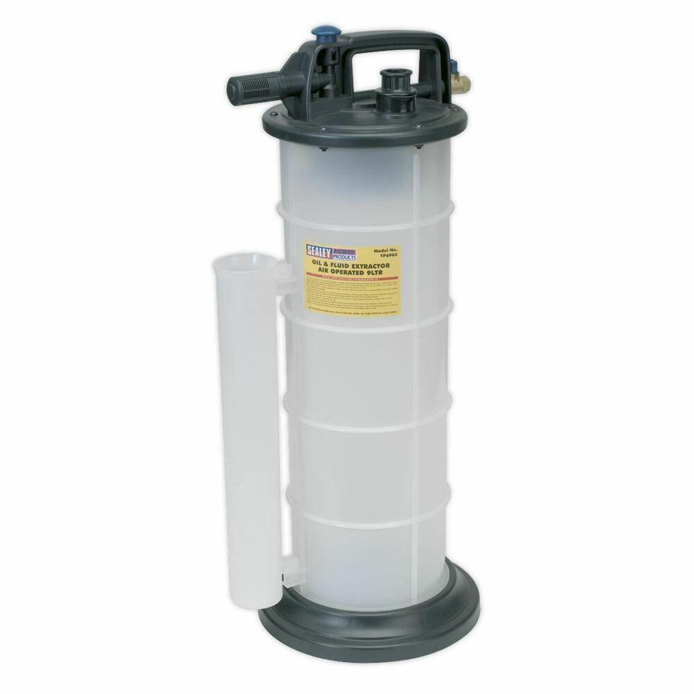 Sealey Tp6903 Aspirateur Huile Fluide Extracteur Air Fonctionne 9 Litres Avec Images Aspirateur Extracteur Auto