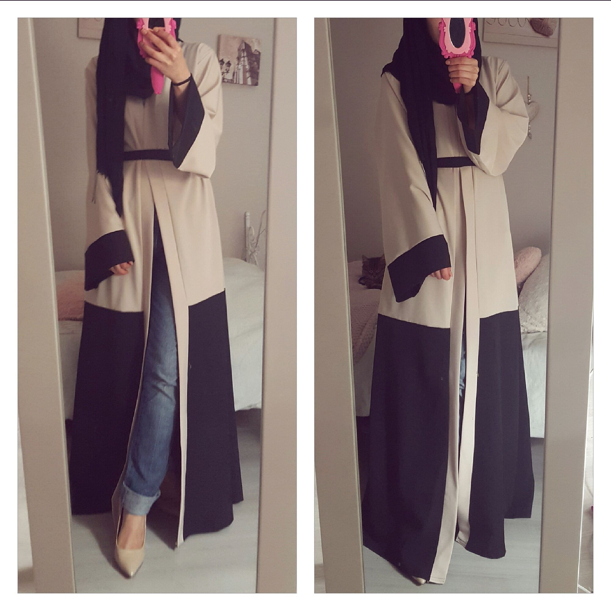 pin by reham on hijabi pinterest mode hijab abaya and. Black Bedroom Furniture Sets. Home Design Ideas
