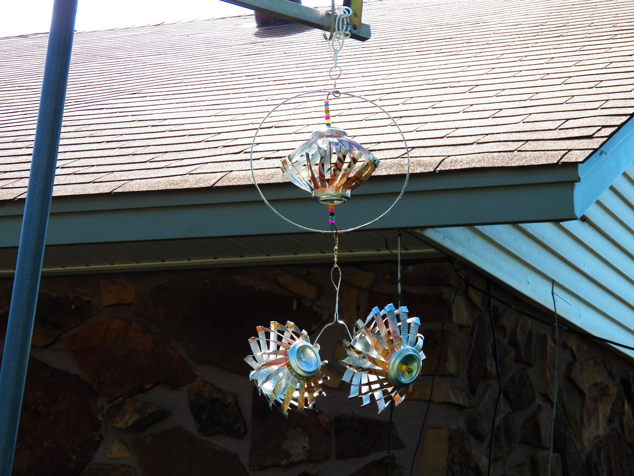 Wind Spinners Made With Soda Cans Soda Can Art Pop Can 400 x 300