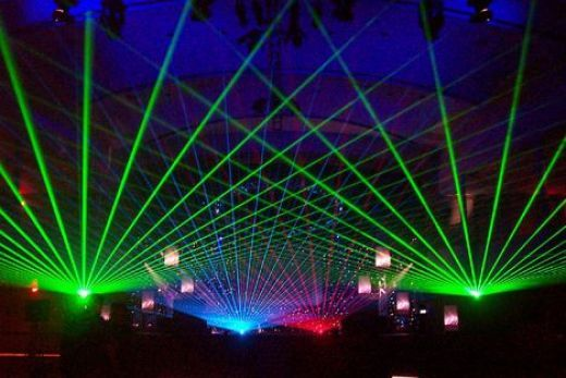 Organising Your Own Rave Lazer Lights Special Effects Lighting Lights