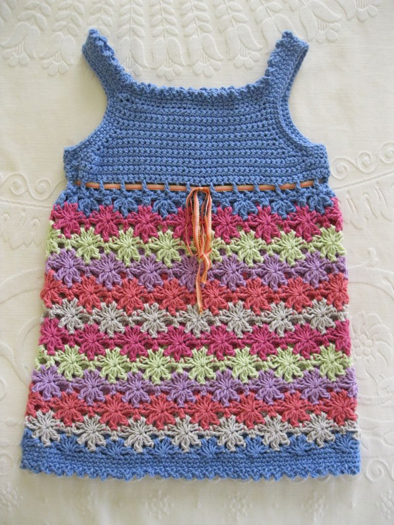 Floreal top, crocheted in BWM 8ply cotton   Crochet, Crochet clothes ...