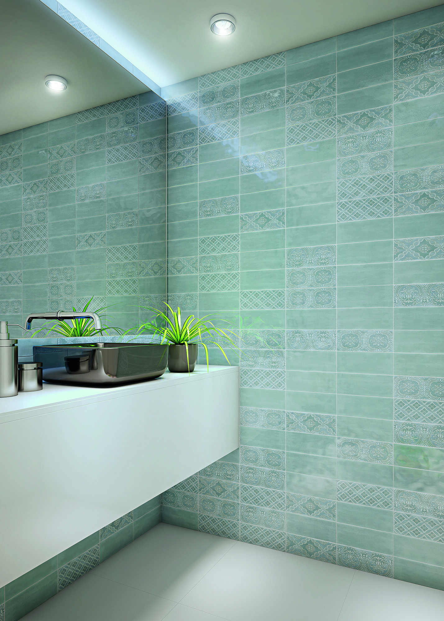 Maiolica Collection Ceramic Wall Tiles By Roca Maiolica