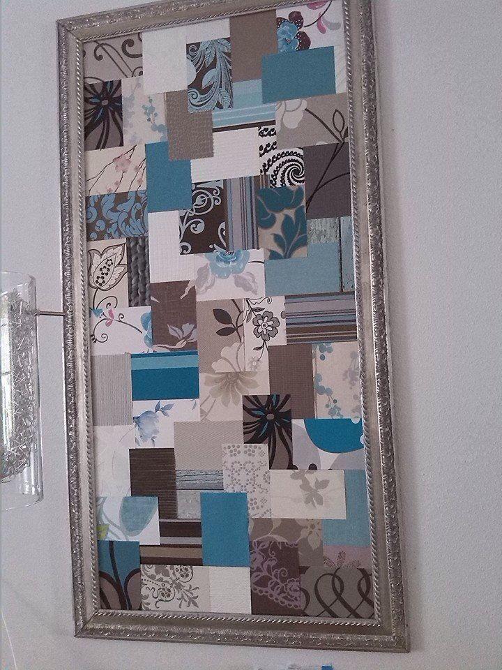 Top Behangstalen   knutselen papier   Wanddecoratie zelf maken @CF78