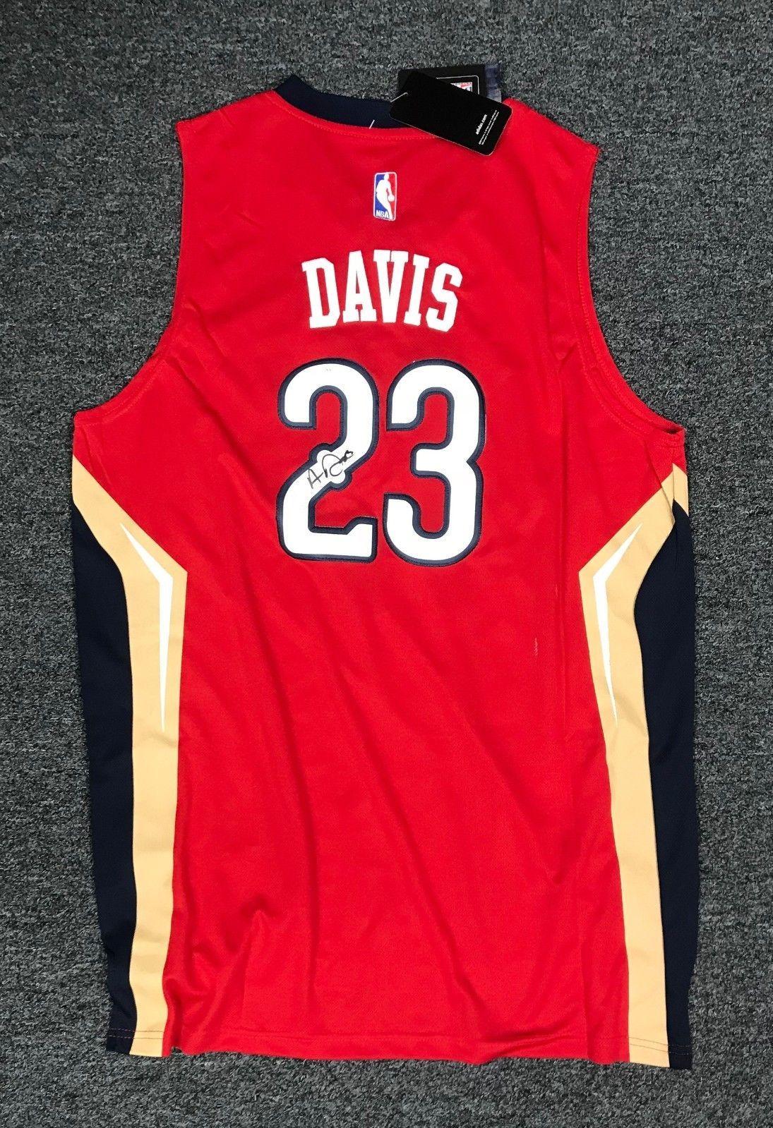 Anthony Davis  23 Signed New Orleans Pelicans Jersey AUTO Sz XL Adidas JSA  COA  Basketball 34c222867