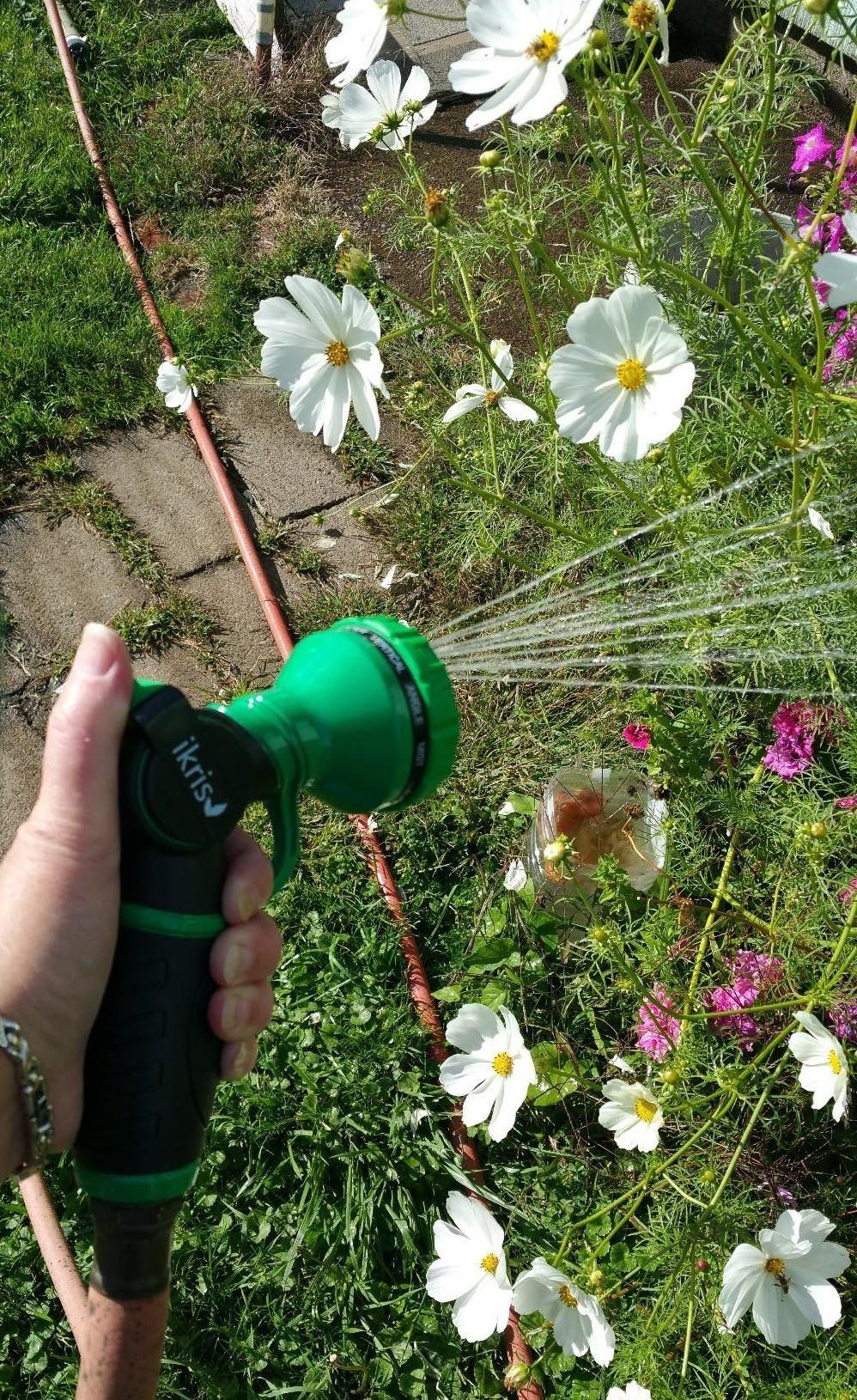 Ikris Metal Garden Hose Nozzle 10pattern Nosqueeze Sprayer You Can Find Out More Details At The Link Of The Image Metal Garden Hose Hose Nozzle Garden Hose