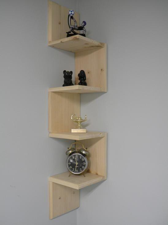Simple Corner Shelf Wall Mounted Corner Shelves Shelves