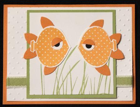 Тепла, открытки с рыбками ручной работы