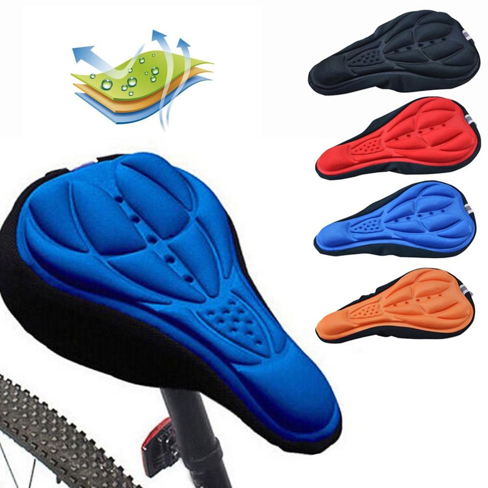 Bike Cycling Seat Road Mountain Bicycle Saddle Seat Soft Cushion Breathable Pad